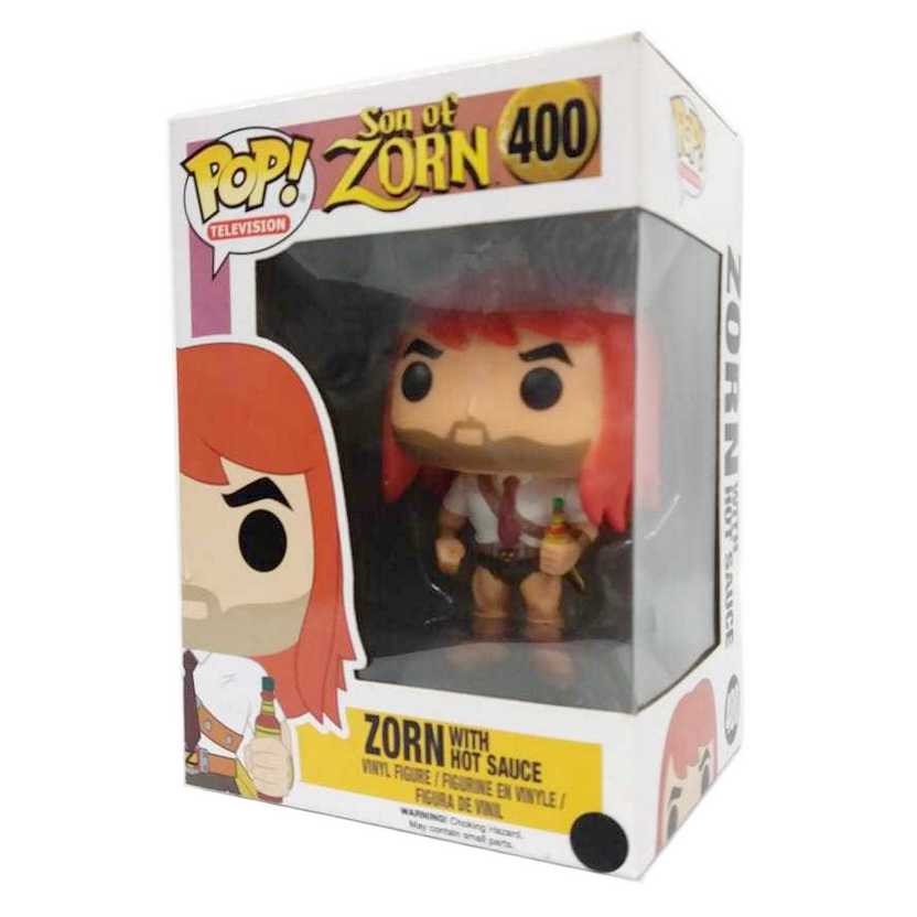Funko Pop Television Son of Zorn with Hot Sauce vinyl figure número 400