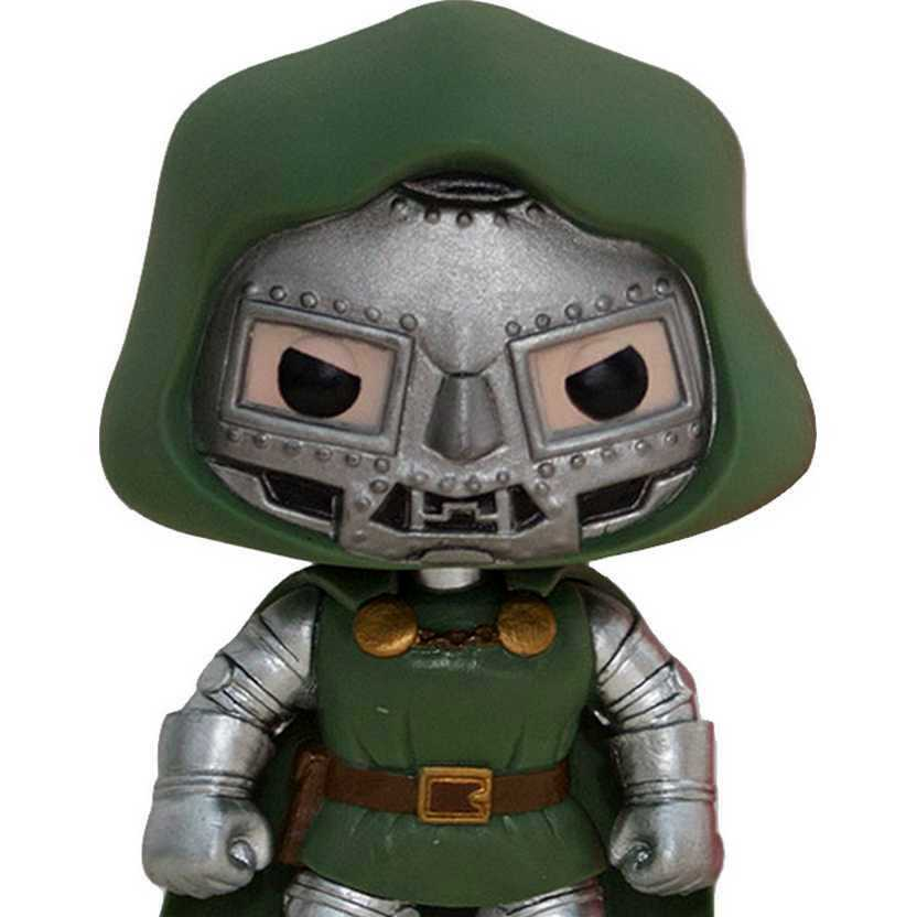 Funko Pop Vinyl Marvel Universe Doutor Destino ( Dr. Doom ) num. 17 Bobble-Head figure