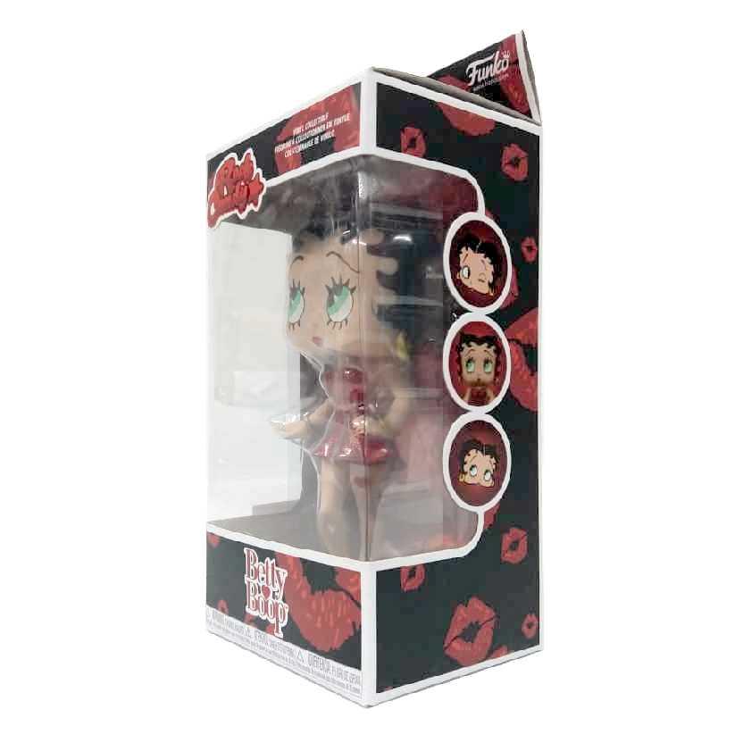 Funko Rock Candy Betty Boop com vestido vermelho ORIGINAL
