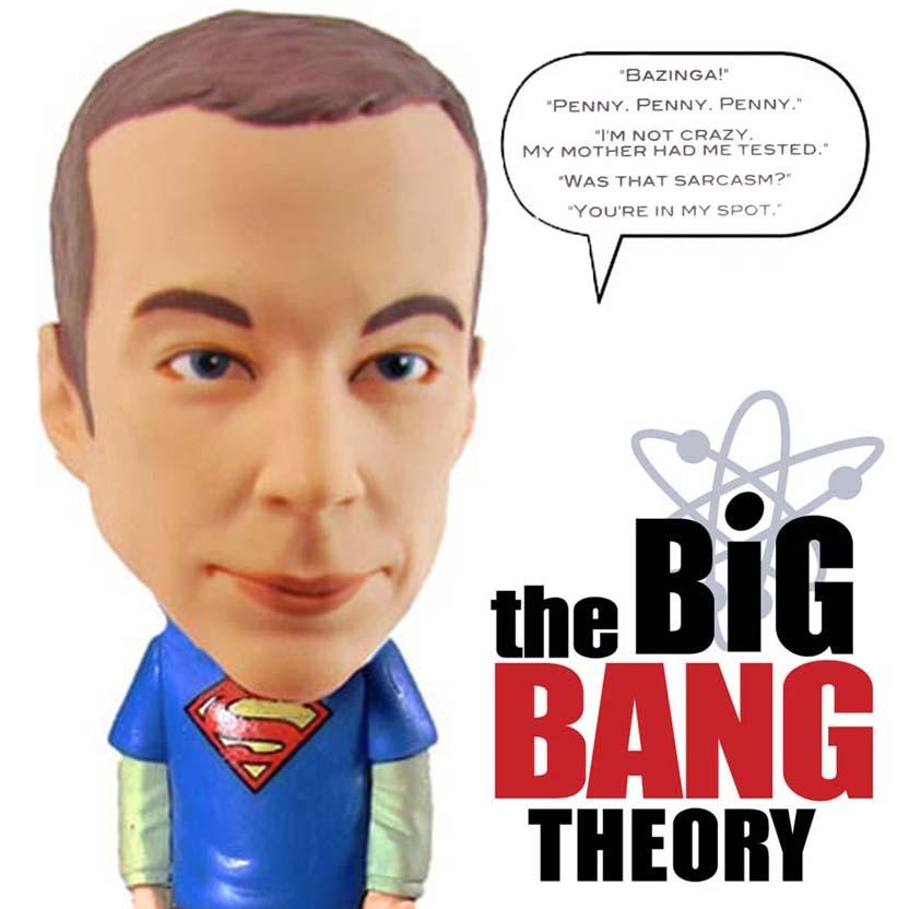 Funko The Big Bang Theory Talking Sheldon Cooper Bobble Head ( Jim Parsons )