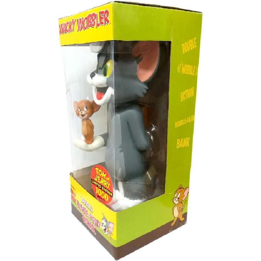 Funko Tom e Jerry (Cofre) Wacky Wobbler Double Bobble-Head Bank