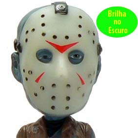 Funko Wacky Wobler Jason Voorhees Friday The 13th (CHASE) BRILHA NO ESCURO