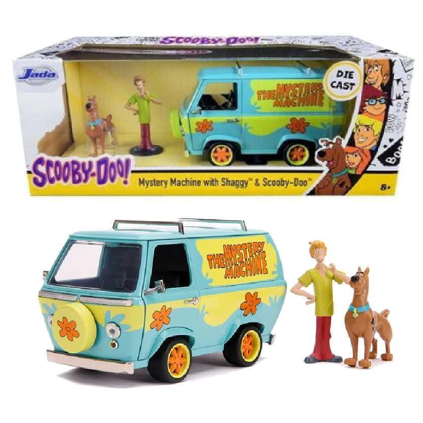 Furgão / Van Máquina de Mistério Mystery Machine Scooby Doo e Salsicha Jada escala 1/24