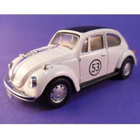 Fusca Herbie (Se o Meu Fusca Falasse) Cararama 1/43