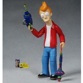 Futurama Fry articulável (aberto)