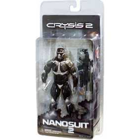 Games Action Figures Crysis 2 Nanosuit Neca Bonecos de Video Game