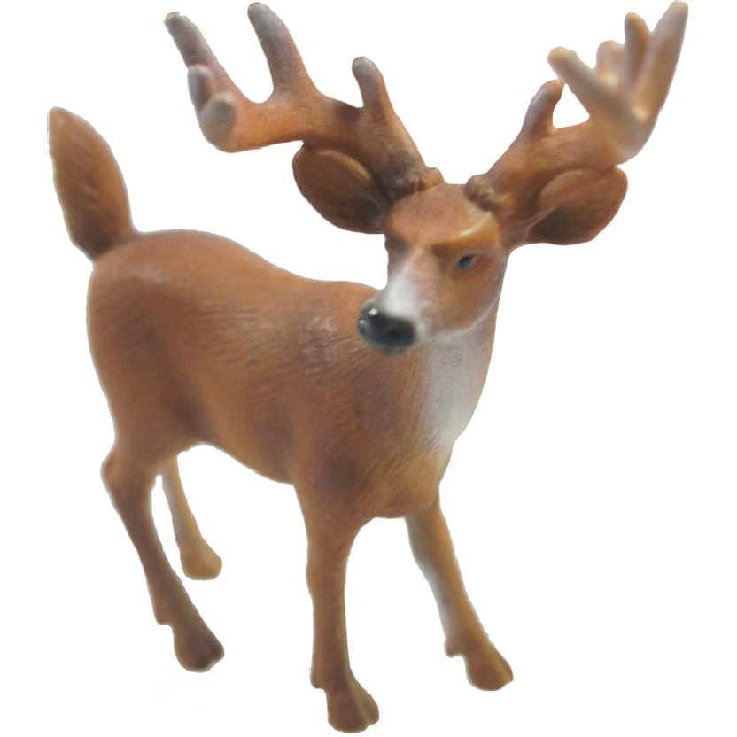Gamo macho de rabo branco Schleich 14253 White Tailed Buck (Veado)