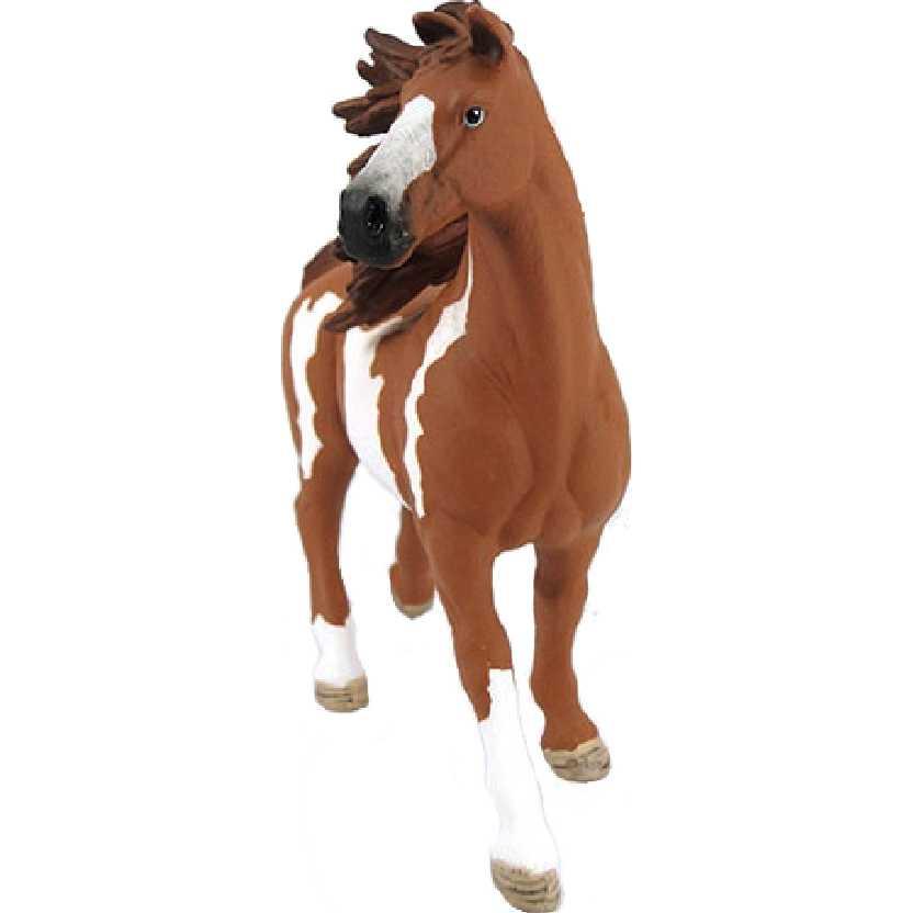 Garanhão malhado 13794 marca Schleich New Pinto Stallion