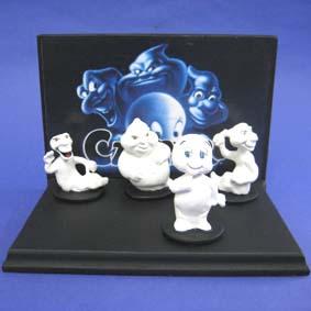 Gasparzinho e os 3 tios (diorama)