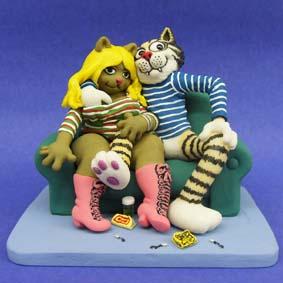 Gato Fritz (Bonecos em Quadrinhos) Fritz the Cat