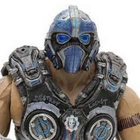 Gears of War 3 boneco Clayton Carmine Action Figure Neca Toys Brasil