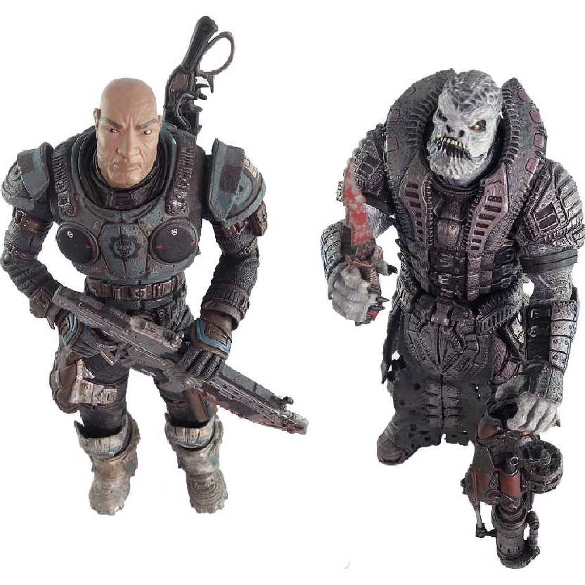 General Raam vs Lt. Minh Young Kim (ABERTO) marca Neca Toys action figures