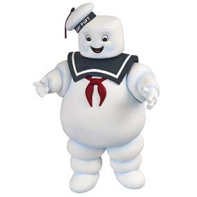 Ghostbusters Stay Puft Marshmallow Man Bank Toy - Cofre Os Caças Fantasmas
