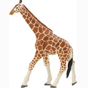 Girafa pintada a mão ( miniatura de animal selvagem Safari Ltd ) 111189