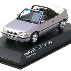 GM Chevrolet Opel Kadett GSi conversível (1989) Minichamps escala 1/43
