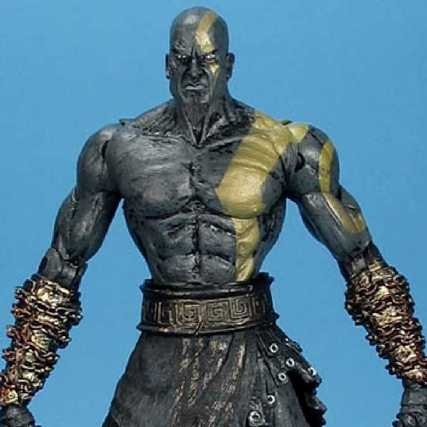 God Of War Dark Odyssey Kratos (ABERTO) Neca Player Select boneco colecionável