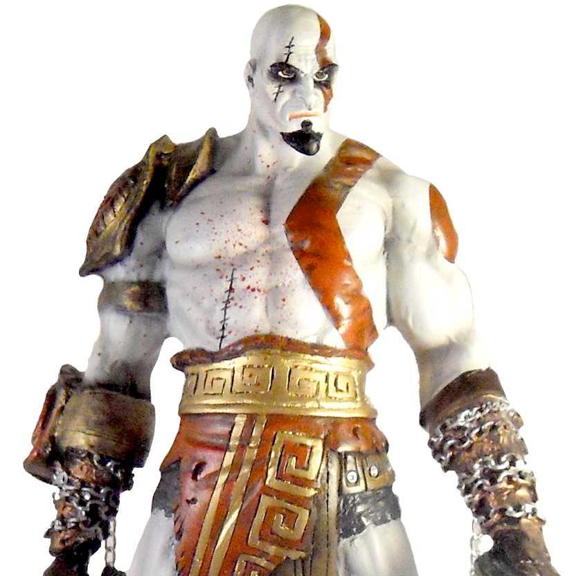 God of War Kratos estátua em resina