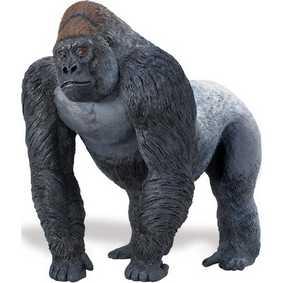 Gorila pintado a mão (miniaturas animais Safari Ltd) 111589