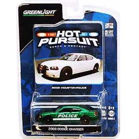 Green Machine Greenlight Collectibles 2008 Charger Houston Police R5 42620