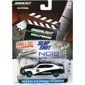 Green Machine Greenlight Fast & Furious 5 Rio Police Dodge Charger (2010) R2 44620