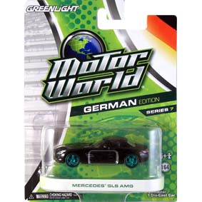 Green Machine Greenlight Motor World 7 Mercedes Benz SLS AMG R7 96070
