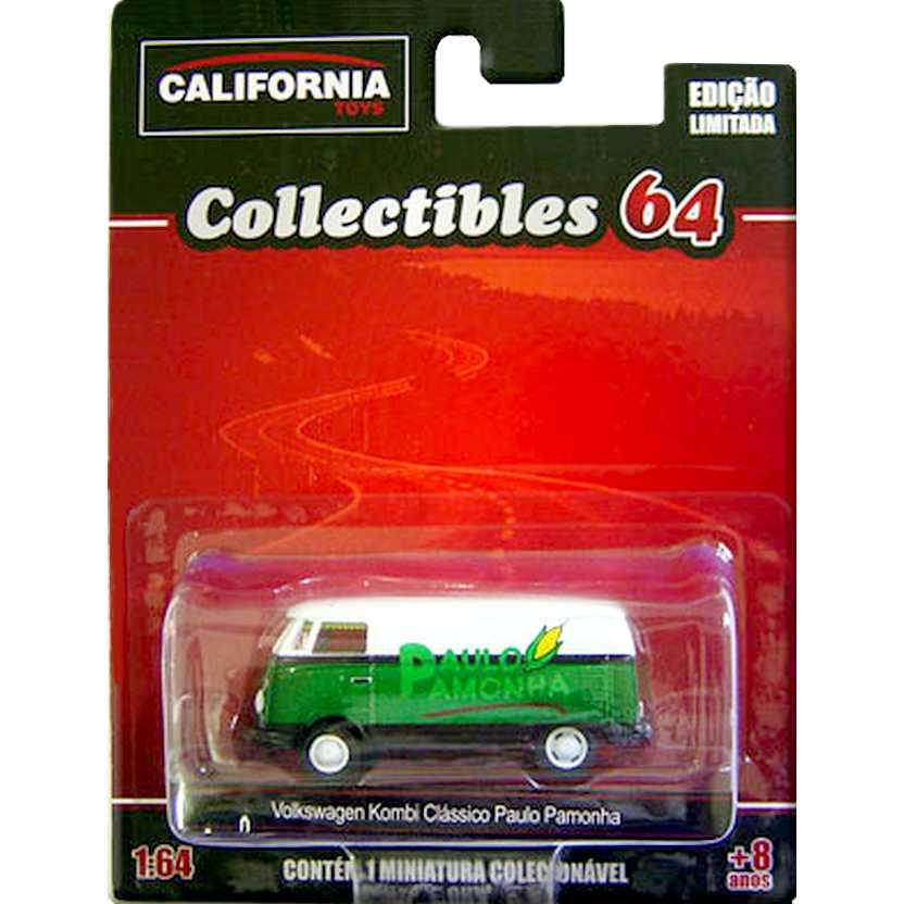 Green Machine VW Kombi - Paulo Pamonha California Toys Collectibles series 2 escala 1/64