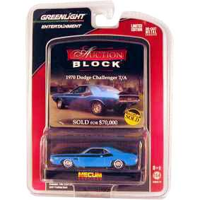 Greenlight / Brasil Dodge Challenger T/A (1970) Auction Blocks 1/64 R13 21710