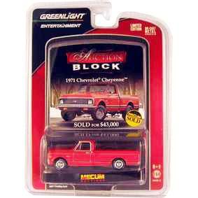 Greenlight 1/64 Brasil Pick-Up Chevrolet Cheyenne (1971) Auction Blocks R13 21710