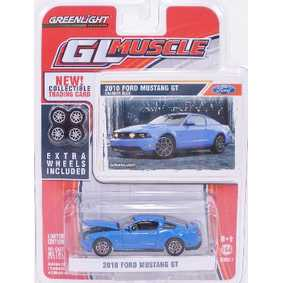Greenlight 1/64 Carrinho GL Muscle Ford Mustang GT (2010) R1 13010