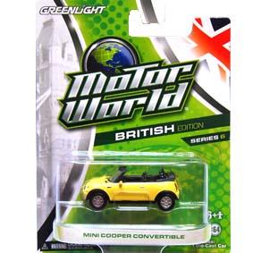 Greenlight 1/64 Collectibles Motor World 6 Mini Cooper Conversível R6 96060