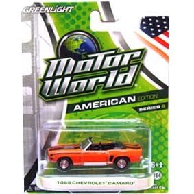 Greenlight 1/64 Collectibles Motor World série 6 Chevrolet Camaro (1969) R6 96060