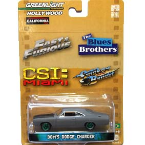 Greenlight 1/64 Green Machine Hollywood Dodge Charger (1970) R1 44610