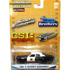 Greenlight 1/64 Hollywood Dodge Monaco (1974) The Blues Brothers R1 44610