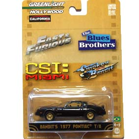 Greenlight 1/64 Hollywood Smokey and the Bandit Pontiac Firebird (1977) R1 44610