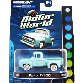 Greenlight 1/64 Miniatura Pick up Ford F-100 Motor World R4 96040