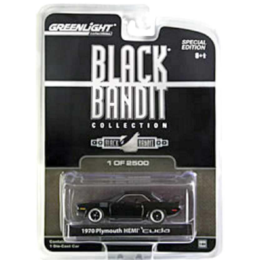 Greenlight Black Bandit Mopar 1970 Plymouthy Hemi Cuda escala 1/64