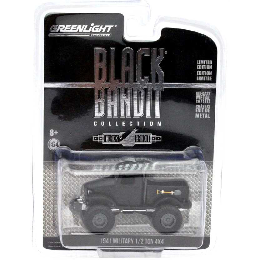 Greenlight Black Bandit series 14 Military 1/2 Ton 4x4 Truck (1941) escala 1/64 27840