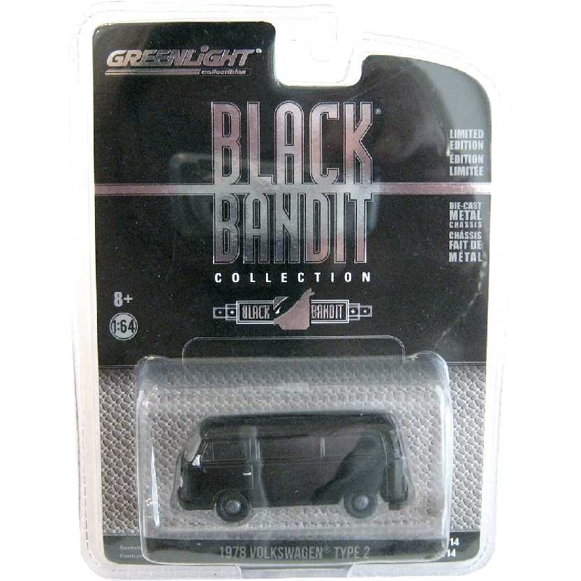 Greenlight Black Bandit series 14 Volkswagen Kombi (1978) escala 1/64 27840