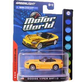 Greenlight Carrinhos 1/64 Dodge Viper SRT/10 (2003) Motor World R3 96030