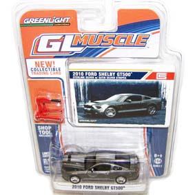Greenlight Carrinhos de Ferro 1/64 Ford Mustang Shelby GT500 (2010) R2 13020