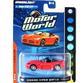Greenlight Carrinhos escala 1/64 Dodge Viper SRT/10 (2003) Motor World R4 96040