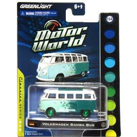 Greenlight Chase Car VW Samba Bus Kombi Motor World R3 96030 :: Green Machine