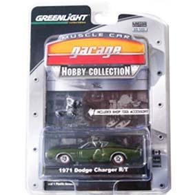 Greenlight Coleção escala 1/64 1971 Dodge Charger R/T (1971) R4 28640