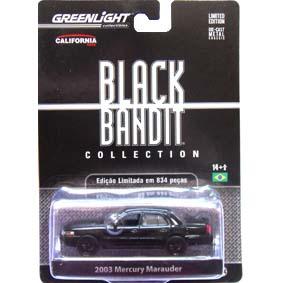 Greenlight Collectibles Black Bandit Mercury Marauder (2003) 1/64 R6 27670
