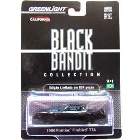 Greenlight Collectibles Black Bandit Pontiac Firebird (1980) série 6 1/64 R6 27670