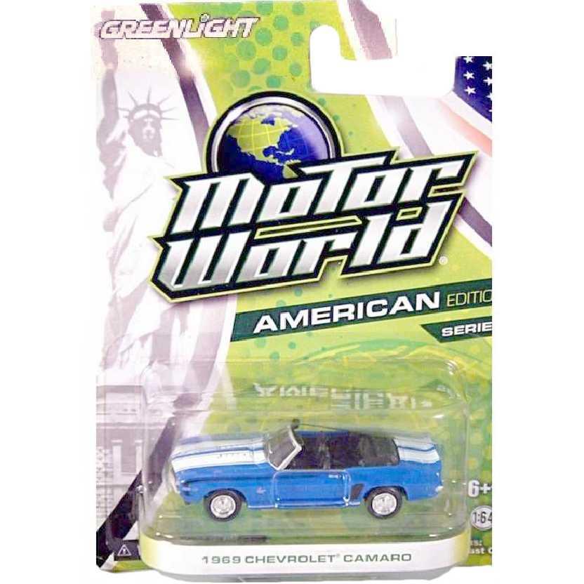 Greenlight Collectibles Chevrolet Camaro (1969) Motor World R5 96050 escala 1/64