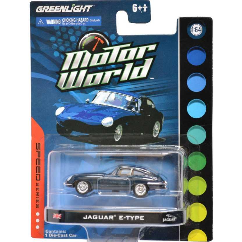 Greenlight Collectibles escala 1/64 - Jaguar E-Type ( Motor World R3 96030 )