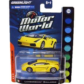 Greenlight Collectibles escala 1/64 Lamborghini Gallardo Motor World R4 96040
