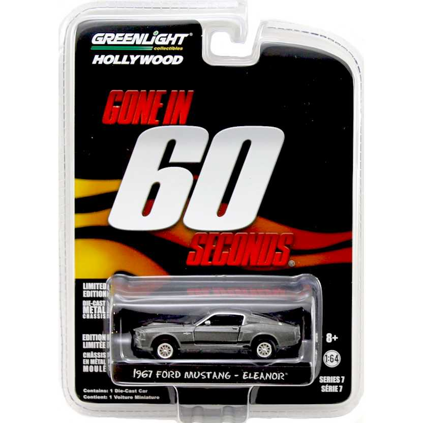 Greenlight Collectibles Gone in 60 seconds (1967) Ford Mustang - Eleanor escala 1/64