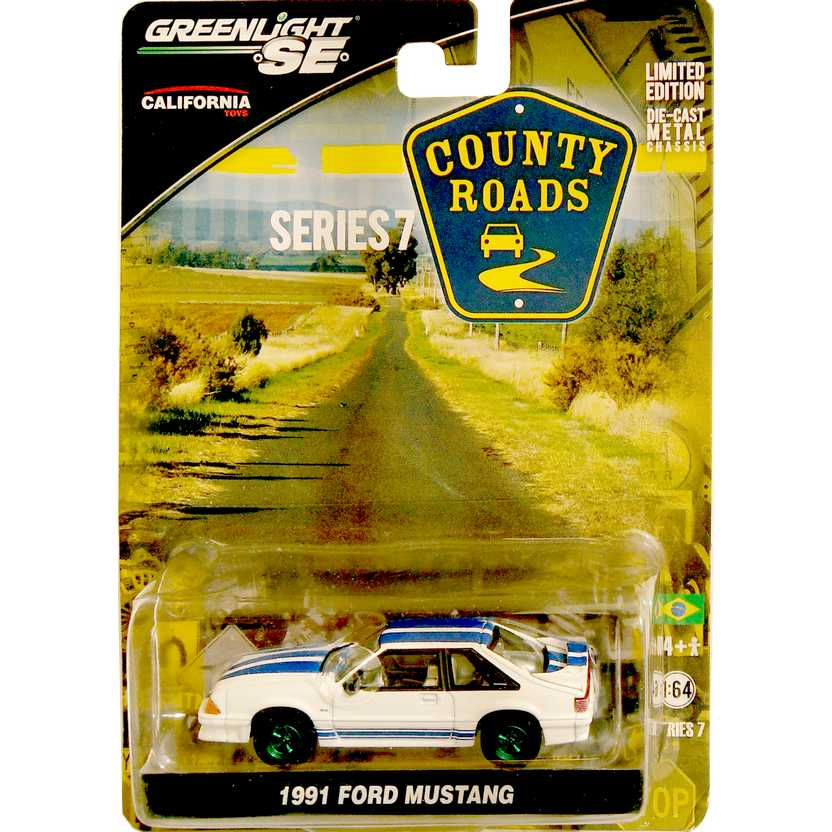 Greenlight Collectibles Green Machine County Roads R7 - 1991 Ford Mustang 29730X